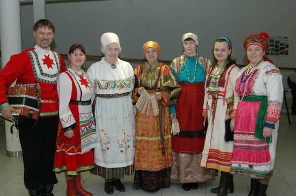 Finnougric peoples